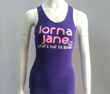 Lorna Jane sports Tank Top Shirt Singlet Fitness Yoga Gym Workout Vest Size XS S