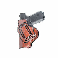 WALTHER PK380 MULTI-CARRY IWB & OWB LEATHER HOLSTER. INSIDE THE PANT.