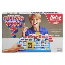Board Game Guess Who Retro Series 1988 Edition 2 Players Ages 6 Years and Up