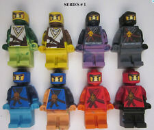 Ninjago Lego Party Favors Minifigures Crayons - Lego Ninjago minifigure crayons