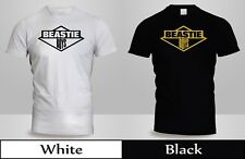 New Beastie Boys License to Ill Get Off My D T-Shirt Mens Black&White Shirt