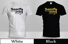 New Beastie Boys License to Ill Get Off My D T-Shirt Mens Black&White Shirt 2