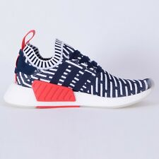 NEW Adidas NMD R2 PK Collegiate Navy White Red BB2909 PRIMEKNIT NMD_R2 OBSIDIA