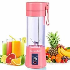 Personal Blender Portable USB Electric Fruit Mixer Rechargeable Juicer Cup 380ML