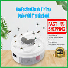 Electric Anti Fly Trap Pest Catcher Killer Repeller Bug Insect Repellent Device