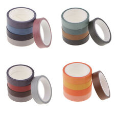 5 Rolls Washi Tape Set DIY Photo Album/Hand Account/Dairy Decorative Sticker