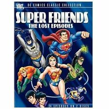 SUPER FRIENDS The Lost Episodes (2 DVDs, 2009) BRAND NEW FACTORY SEALED