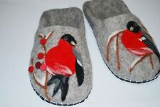 Felted 100% wool handcrafted slippers!!! Handmade!