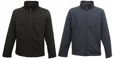 REGATTA MENS CLASSIC SOFTSHELL WORKWEAR JACKET NAVY BLUE or BLACK TRA680
