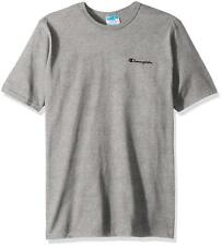 Champion Oxford Gray Embroidered Script Logo T-Shirt
