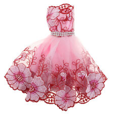 Adorable Doll Dress Lace Skirt for 30cm Barbie Dolls Clothes Accessories