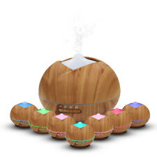 400ML Aroma Essential Oil Diffuser Ultrasonic Air Humidifier Cool Mist Purifier