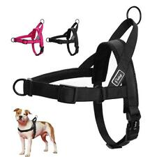 No Pull Dog Harness Quick Fit Nylon Harnesses Soft Mesh Padded Pet Vest Strap