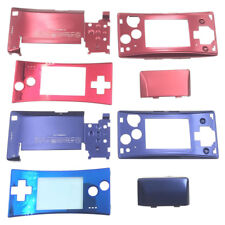 Aluminum Replacement Housing Shell Case Set Kit for Nintendo Game Boy Micro GBM