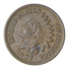 AU/Unc - Creamy 1907 Indian Head Cent - Nice *082