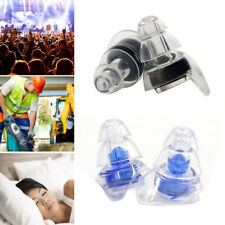 Anti Noise Defender Hearing Protection Earplugs Sleep Snore Silicone Ear Plugs