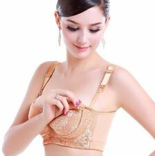 Lace Maternity Nursing Bra Push Up Front Opening Breast Feeding For Pregnant Wom