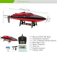 H101 RC Boat Red