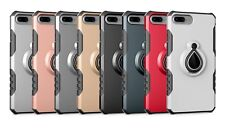 for Apple iPhone 7 Plus TPU+PC Shockproof Heavy Duty Protective Stand Case Cover