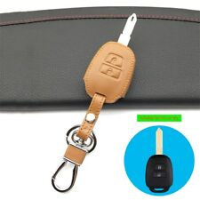 Car leather key cover key case For Toyota Yaris Camry Corolla Echo Prado
