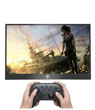 """15.6"""" inch HDR portable display for PS4pro SWITCH XBOX touch extension screen"""