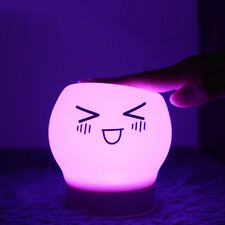5 Modes 7 Colors Changeable USB Rechargeable Funny Silicone LED lights Tap Contr