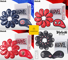 Volvik Marvel Spiderman Captain America Ironman Black Panther Golf Iron Covers