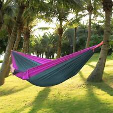 Hammock For Two Person Parachute Outdoor Lover Nylon Fabric Portable Travel