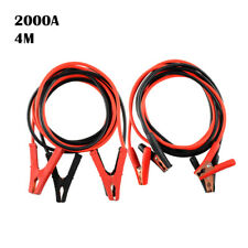 Car Emergency Charging Booster Cable Battery Jumper Wire Power 1800A 2000A 3M 4M
