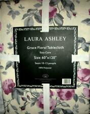 Laura Ashley Grace Floral Tablecloth 60