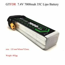 Lipo Battery 7.4V 7000/6000/5000/4200/3500/2200 mAh 2S 35C for RC Airplane Helic