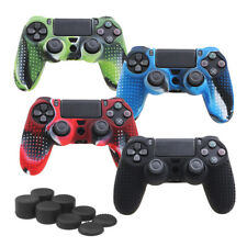 Camouflage Silicone Rubber Skin Grip Cover Case for PlayStation 4 Controller TO