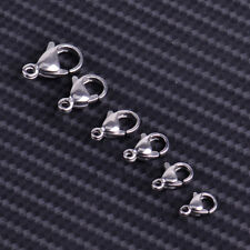 New 100x Lobster Clasps Hooks Claw Connector Trigger Findings Necklace Bracelets