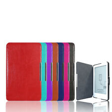 "Slim Leather Protector Pouch Skin Shell Case Cover For 6"" Kobo Glo eReader TR"