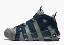 Nike Air More Uptempo 96 GEORGETOWN HOYAS COOL GREY NAVY BLUE 921948-003 =