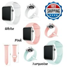 38mm 42mm For Apple Watch Series 1 2 3 4 Silicone Bracelets Band Straps Sports