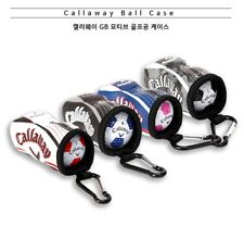 Callaway Original GB Motif Golf Ball Case 1PC Portable Holder Accessory Bag