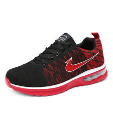 Mens Sport Shoes Running Athetic Sneakers Casual Breathable Mesh Jogging Shoes