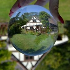 K9 Clear Glass Crystal Healing Ball Photography Lens Ball Sphere Home Decoration