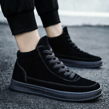 New Fashion Winter Mens Casual Shoes Comfortable Sneakers Walking High-top Shoes