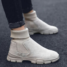 New Mens Winter Snow Boots High top Athletic Sneakers Warm Casual Martin Shoes