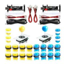 2-Player Arcade LED Buttons and Joystick for Mame Machine Replacement Parts Kit