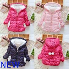 Coat Kids Hoodie Winter Jacket Sweater Padded Girls Baby Toddler Warm Clothes