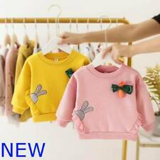 Hoodie Winter Sweater Coat Outerwear Jacket Girls Baby Toddler Warm Kids Clothes