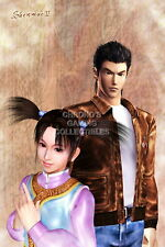 122269 Shenmue II Ryo and Fangmei Sega DreamCast Decor LAMINATED POSTER US