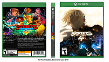 CUSTOM REPLACEMENT CASE  Streets of Rage 4 XBOX PS4 NO DISC SEE DESCRIPTION