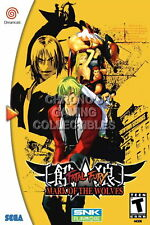 123866 Fatal Fury Mark of the WolveSega DreamCast Decor LAMINATED POSTER DE