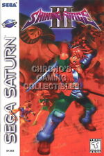 123541 Shining Force III 3 Sega Saturn Decor LAMINATED POSTER CA