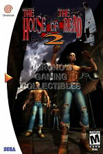 123858 The House of the Dead 2 Sega DreamCast Decor LAMINATED POSTER CA