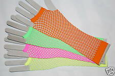 GLOVES FISHNET ONE SIZE HEN STAG DANCE FROM £2.49 NEON